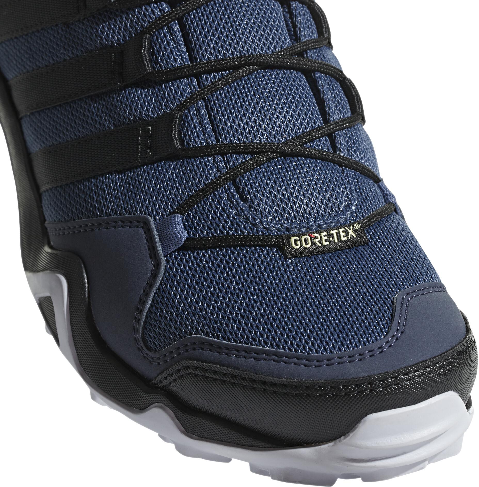 low priced 70c1f 5d3c4 adidas TERREX AX2R GTX Outdoor Shoes Women Raw SteelCore BlackAero Blue